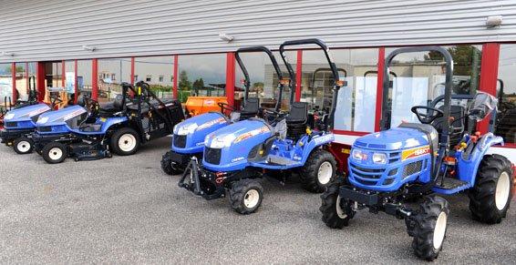 Tracteur Ornex